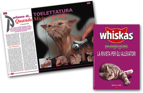 whiskas magazine